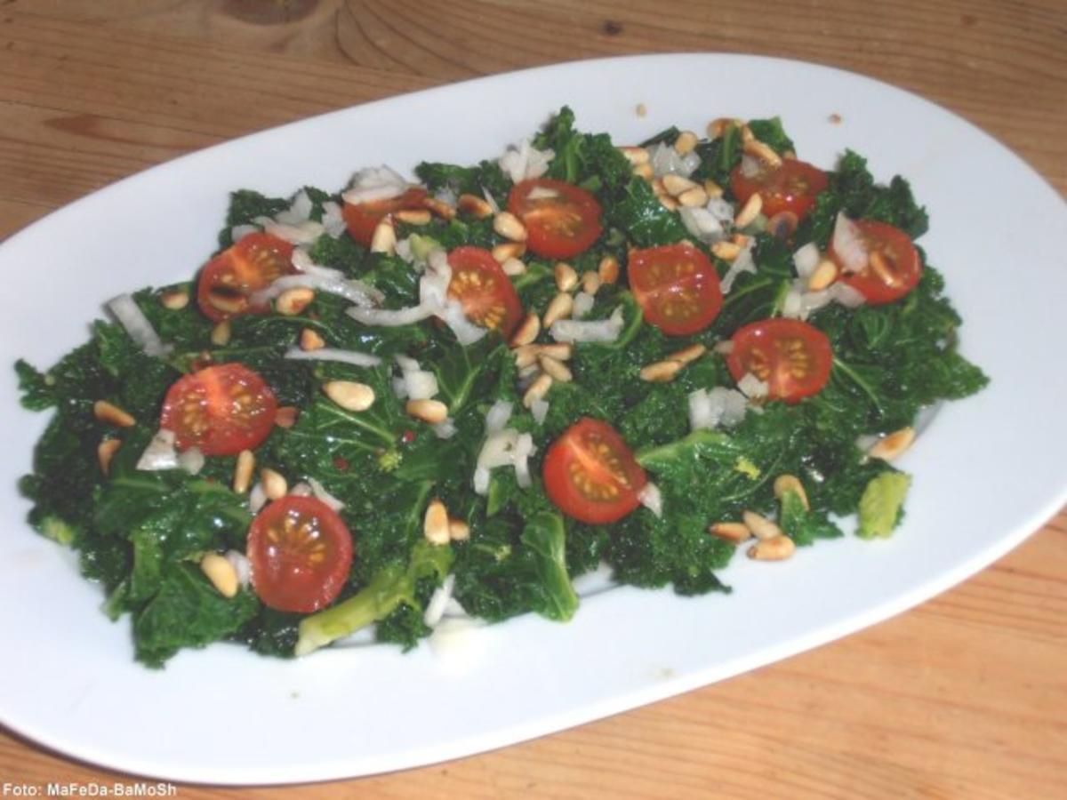 Rezept zum Abnehmen mit Grünkohl und Sellerie