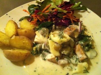 """Veganer """"Matjes"""" nach Hausfrauen Art - Rezept"""