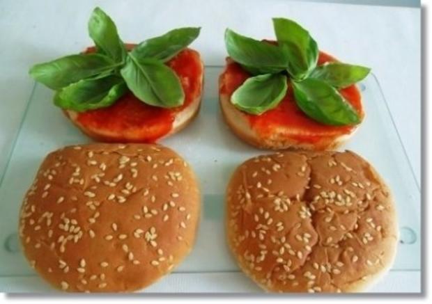 Hausgemachte Hamburger mit Pommes (ړײ) - Rezept - Bild Nr. 11