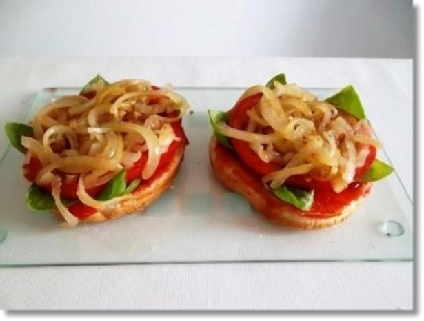 Hausgemachte Hamburger mit Pommes (ړײ) - Rezept - Bild Nr. 13