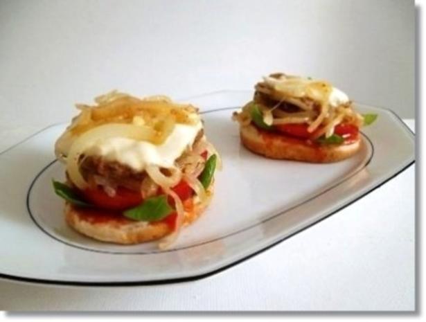 Hausgemachte Hamburger mit Pommes (ړײ) - Rezept - Bild Nr. 14