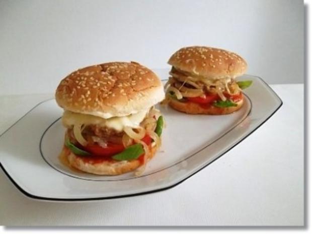 Hausgemachte Hamburger mit Pommes (ړײ) - Rezept - Bild Nr. 16