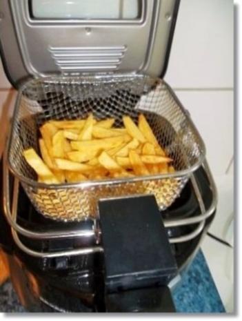 Hausgemachte Hamburger mit Pommes (ړײ) - Rezept - Bild Nr. 18