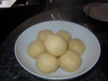 Perfekte Kartoffelknödel - Rezept