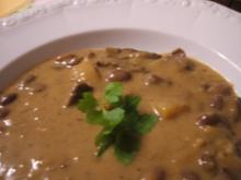 """Suppen: Kartoffel- Bohnensuppe """"Überbleibsel"""" - Rezept"""