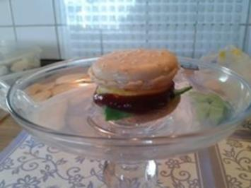 Sweet Hamburger (Macarons) - Rezept