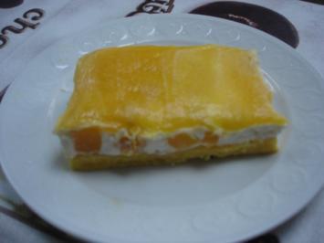 Maracuja-Pfirsich-Kuchen - Rezept
