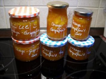 Konfitüre & Co: Grapefruit-Orange 2014 - Rezept