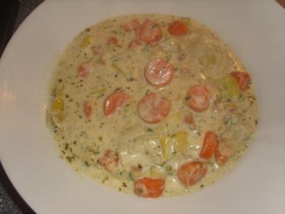 Karotten-Porree Suppe - Rezept