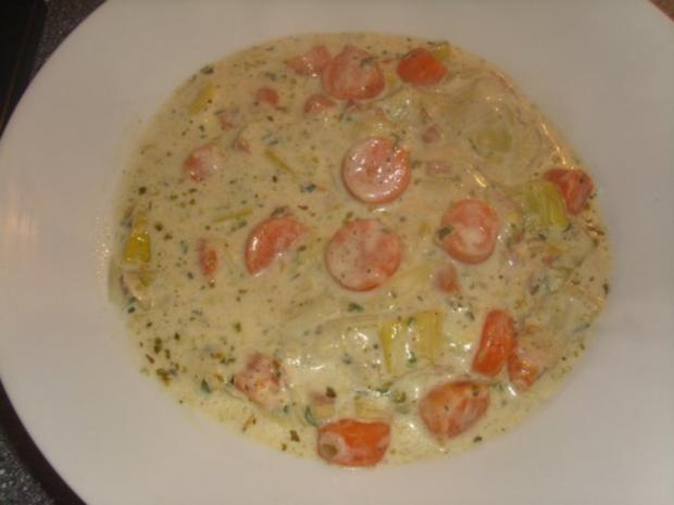 Karotten-Porree Suppe - Rezept mit Bild - kochbar.de