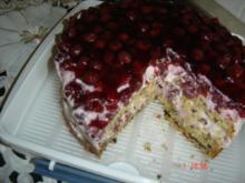 Joghurt-Kirschtorte - Rezept