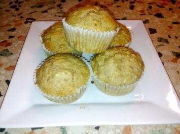 Apfel-Walnuss Muffins - Rezept