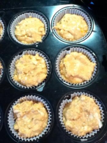 Apfel-Walnuss Muffins - Rezept - Bild Nr. 3