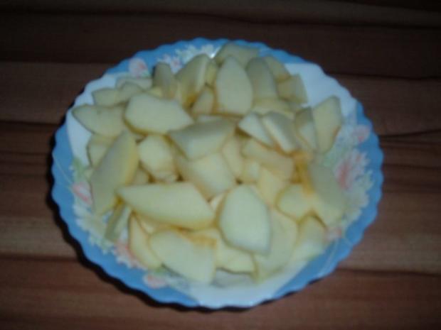 Fisch . Lachs mit Porree - Apfel - Gemüse - Rezept - Bild Nr. 4