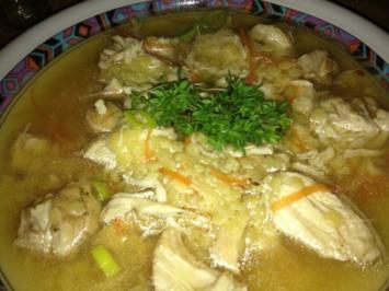 Rezept: Werde-schnell-wieder-gesund-kleine-Maus-Suppe