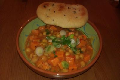 Süßkartoffel-Kokos-Curry - Rezept