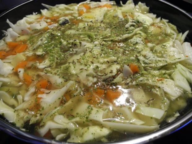 Vegan : Kohlsuppe mit Graupen - Rezept - Bild Nr. 4