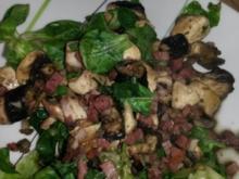 Warmer Feldsalat - Rezept