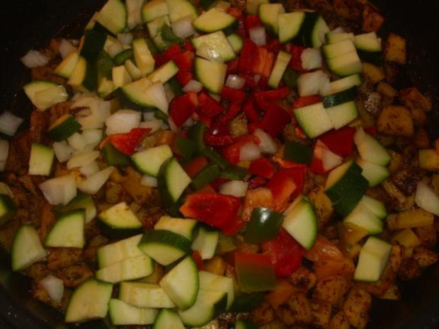 Gemüsepfanne mit Sucuk - Rezept - Bild Nr. 3
