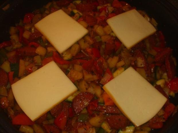 Gemüsepfanne mit Sucuk - Rezept - Bild Nr. 5