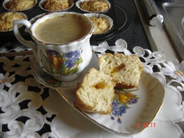 Muffins mit Marmelade - Rezept