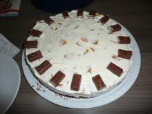 Pfirsich - Sahne - Torte - Rezept