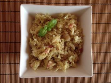 Krautsalat mit Malz und Leinöl - Rezept