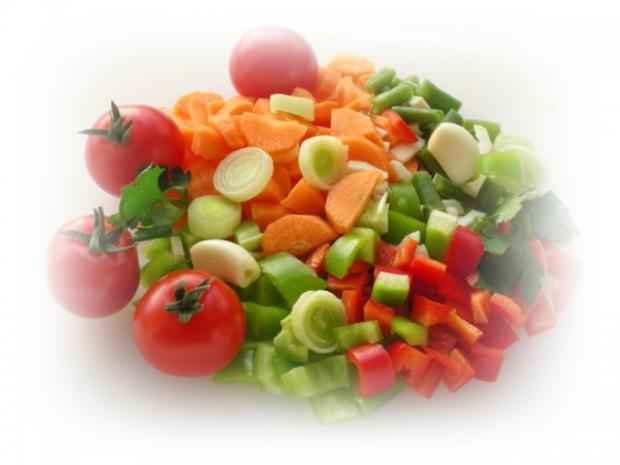 Bulgarisches Gratin  mit Hähnchenfleisch und Gemüse - Rezept - Bild Nr. 4
