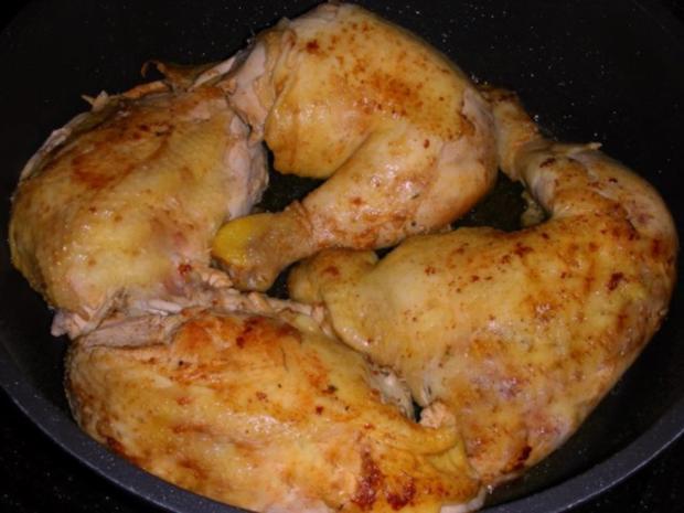 Bulgarisches Gratin  mit Hähnchenfleisch und Gemüse - Rezept - Bild Nr. 6