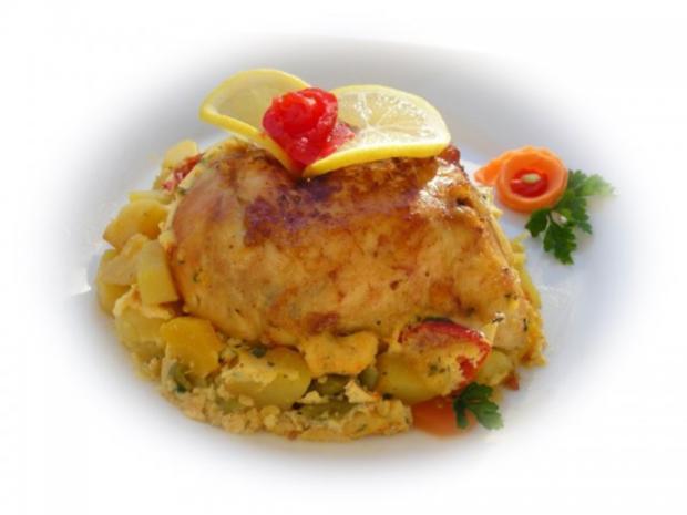 Bulgarisches Gratin  mit Hähnchenfleisch und Gemüse - Rezept - Bild Nr. 17
