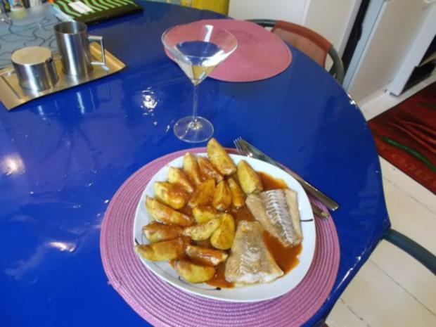 Fisch: Pikanter Kabeljau mit Chakalaka-Kartoffelspalten - Rezept - Bild Nr. 14