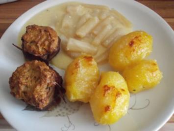 Fleischgericht - Schweinefilet mit Brotkruste - Rezept