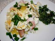Teichmann's Kartoffelgratin mit Kressesalat - Rezept