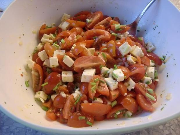 Tomatensalat à la Heiko - Rezept