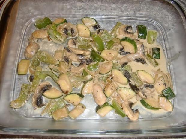 Nudelauflauf mit Zucchini und Champignons à la Heiko - Rezept - Bild Nr. 11