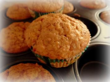 Rübli-Nuss-Muffins - Rezept
