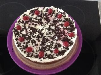Rezept: Schwarzwälder-Kirsch Torte