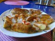 Geflügel: Grillhähnchen mit Gorgonzolasoße - Rezept