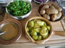 Vegan : Ein schnelles rustikales Mittagessen - Rezept