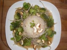 Broccoli asiatische Art mit Cashew-Nüssen - Rezept