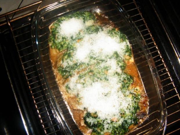 Chicoree gefüllt mit Crevetten und Spinat - Rezept - Bild Nr. 8