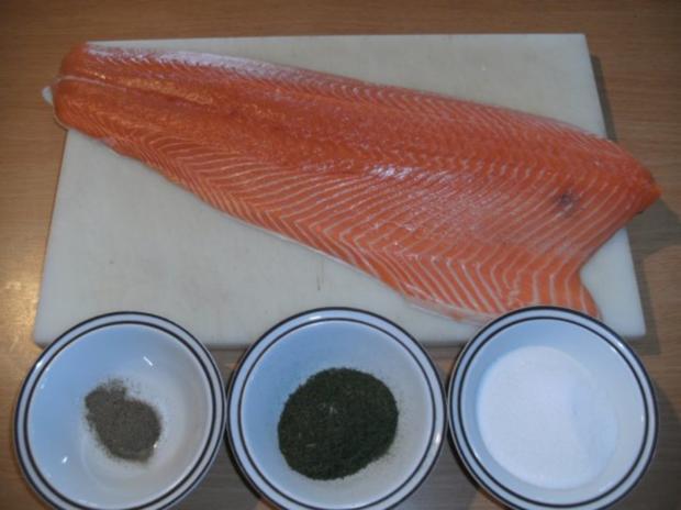 Fisch: Graved Lachs - Version 1 - Rezept - Bild Nr. 4