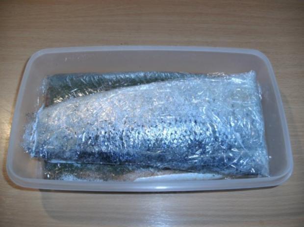 Fisch: Graved Lachs - Version 1 - Rezept - Bild Nr. 8