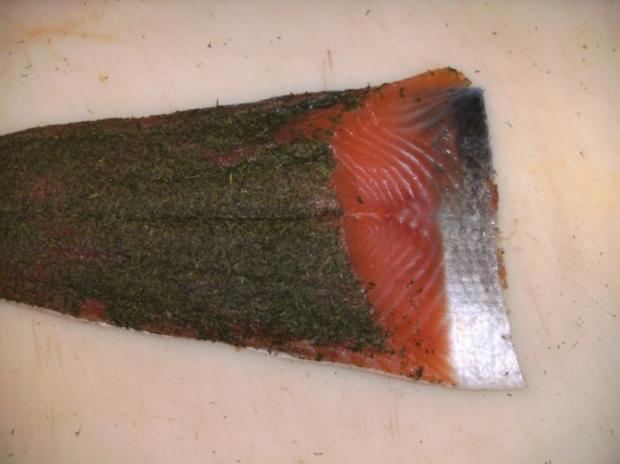 Fisch: Graved Lachs - Version 1 - Rezept - Bild Nr. 9
