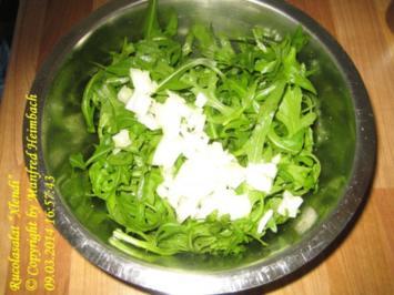 "Salat – Rucolasalat ""Xlendi"" - Rezept"