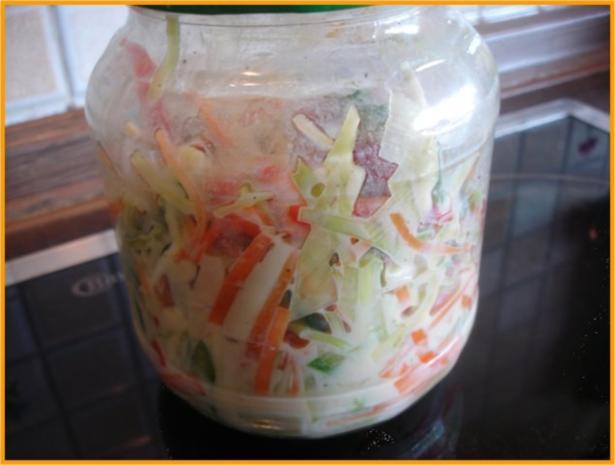 Krautsalat nach Stana - Rezept
