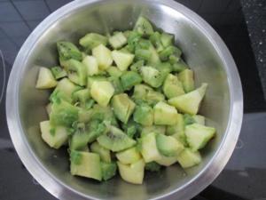 Frischer Avocadosalat - Rezept