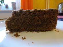 Kuchen: Schoko-Rum-Nusskuchen - Rezept