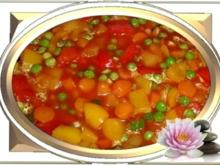 -`❊´-  Buntes süß-sauer Gemüse auf chinesische Art -`❊´- - Rezept