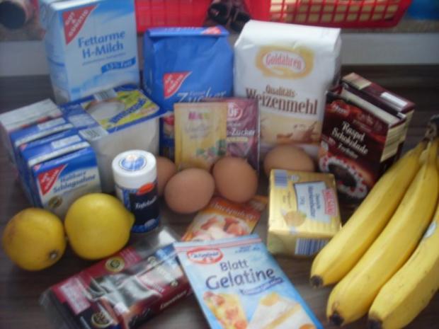 Bananen-Quark-Schnitten - Rezept - Bild Nr. 2